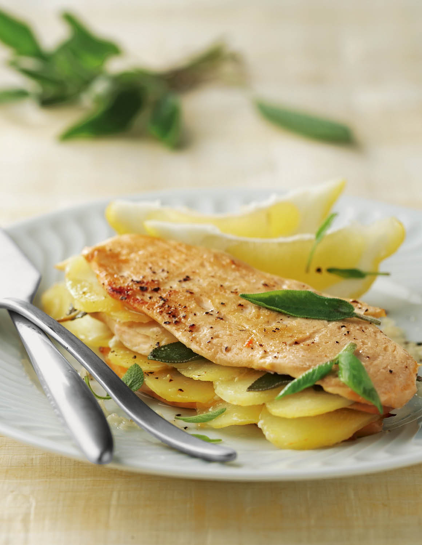 14 recetas con efecto quemagrasa - Pechugas de pollo al limon ...