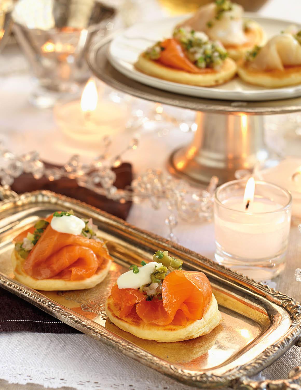 Canapés variados y fáciles de hacer para sorprender a tus invitados