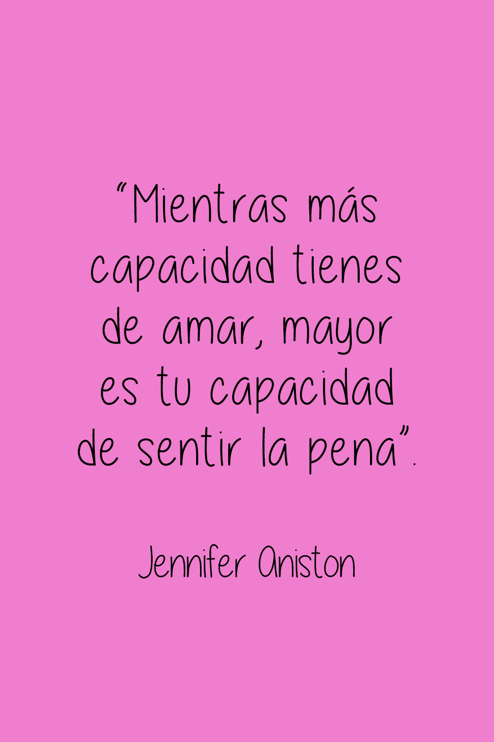 jennifer aniston frase celebre.