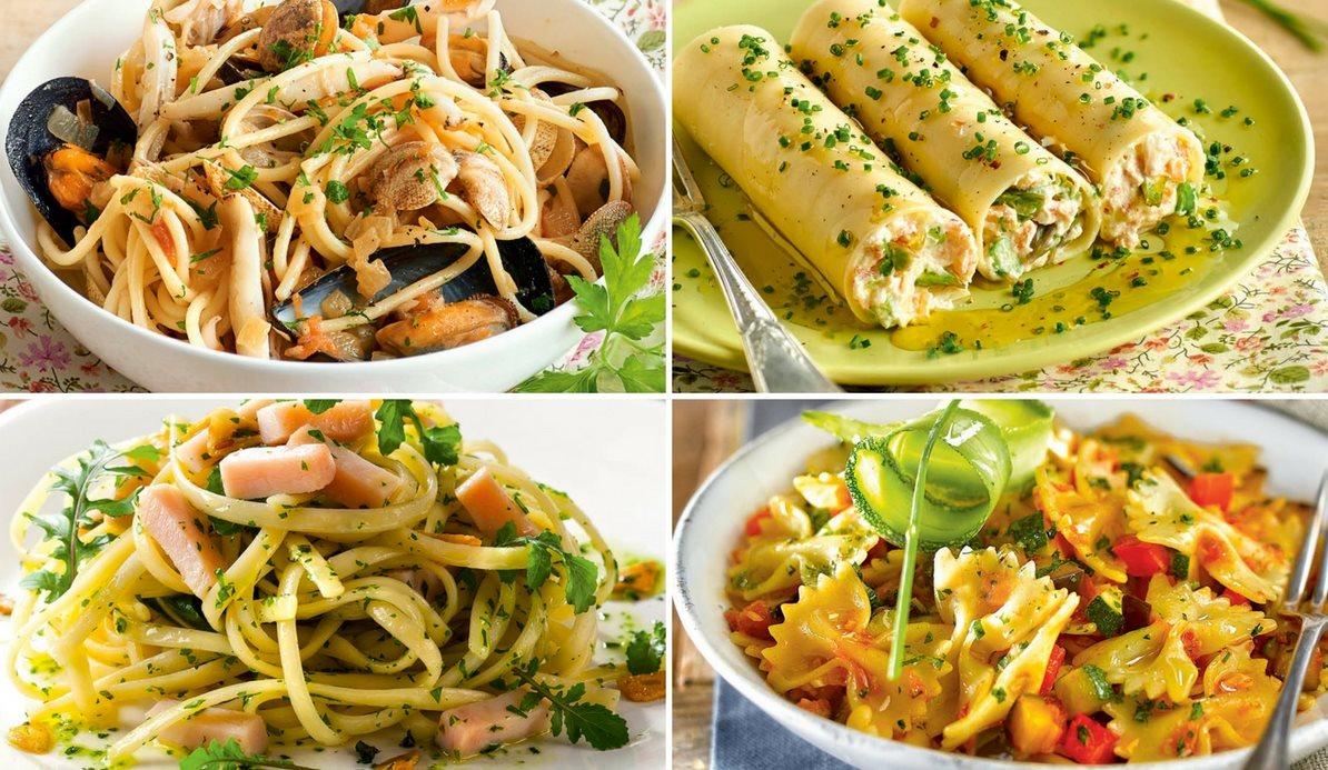 Recetas para comer pasta sin engordar Plato rapido y facil de preparar