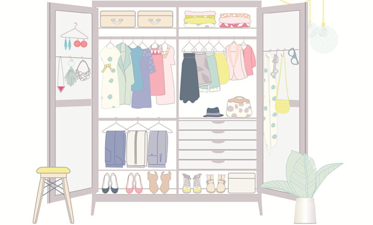 Trucos para organizar el armario con el m todo de marie kondo for Ideas para disenar ropa