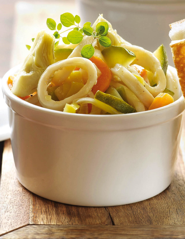 Calamar. Calamar, proteínas sin apenas calorías