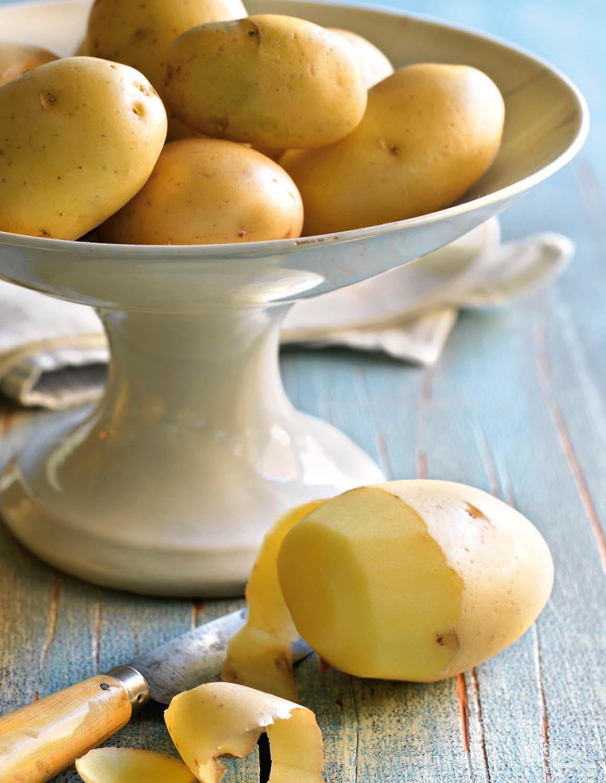 Patata. Patata, mejor cocida y fría