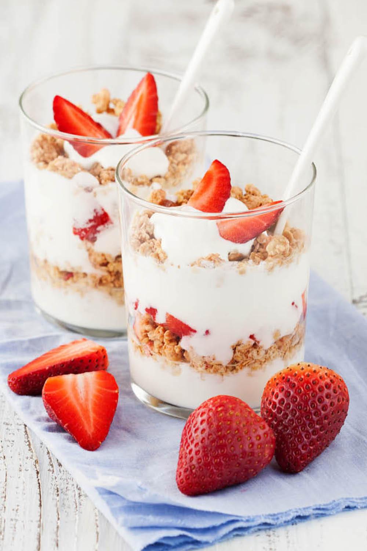 Dieta del yogur y frutas