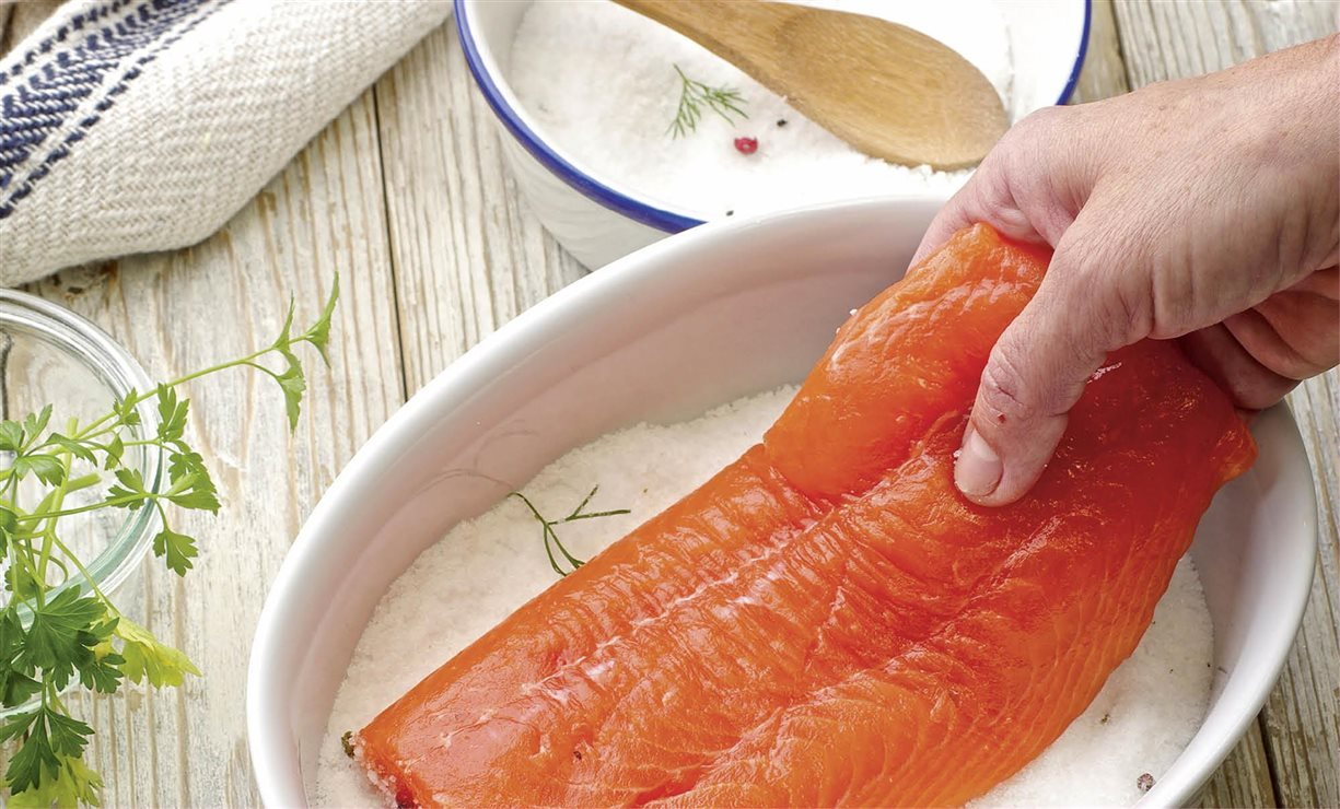 C mo hacer salm n marinado paso a paso for Como se cocina el salmon