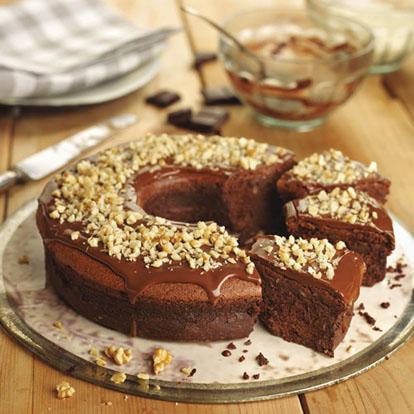 receta de tarta de chocolate sin gluten y sin leche