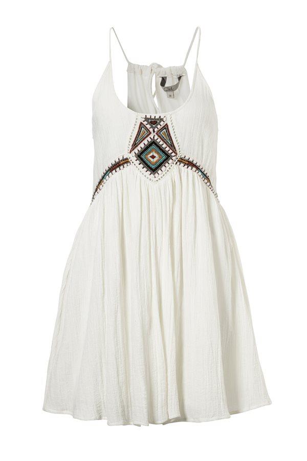 a358a45f6 coleccion playa ca verano 2017 vestido blanco etnico. Mini vestido blanco