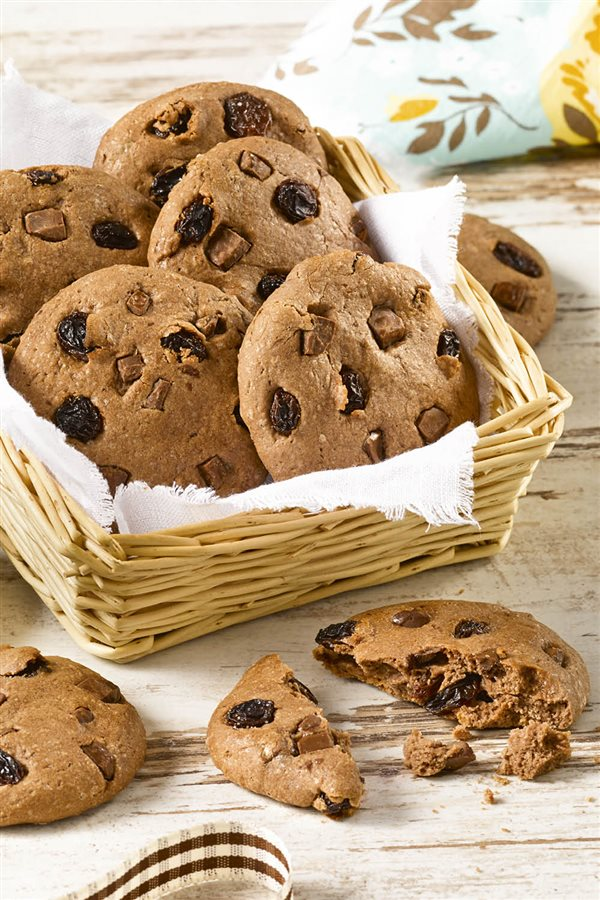 Cookies ligeras de chocolate