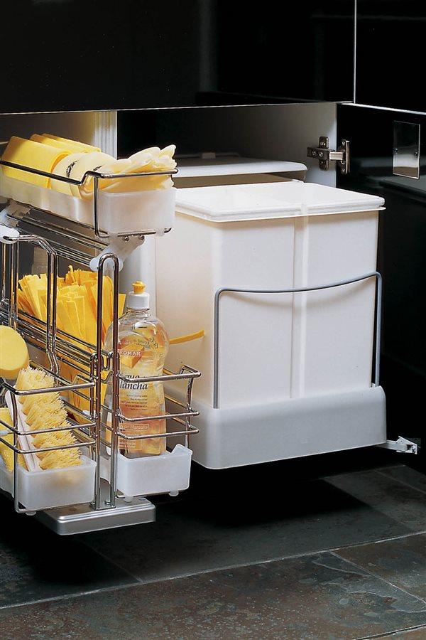 Claves para poner orden en la cocina - Cubos reciclaje cocina ...