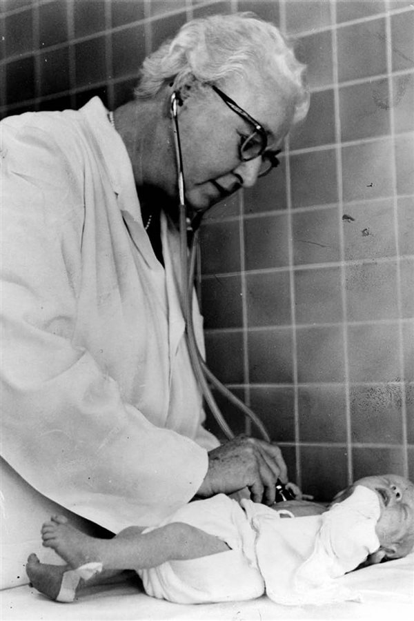 Virginia Apgar inventos mujer historia. Virginia Apgar - Test de Apgar