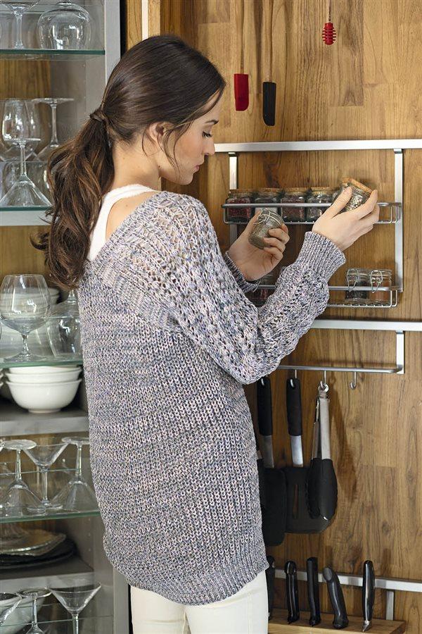 orden en la cocina chica esperciero vajilla y utensilios. ¿Qué hacer con  las especias 1fbbe414ea79