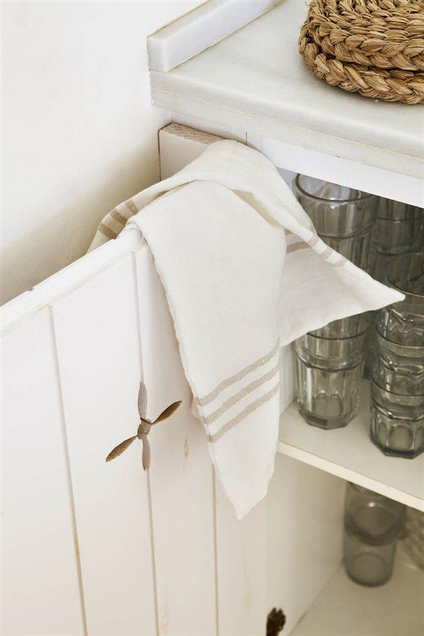 orden en la cocina trapo armario vasos. ¿Dónde poner los trapos y las  manoplas 1a28b624f08c