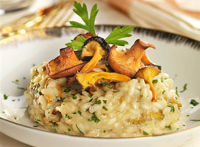 Risotto light de setas