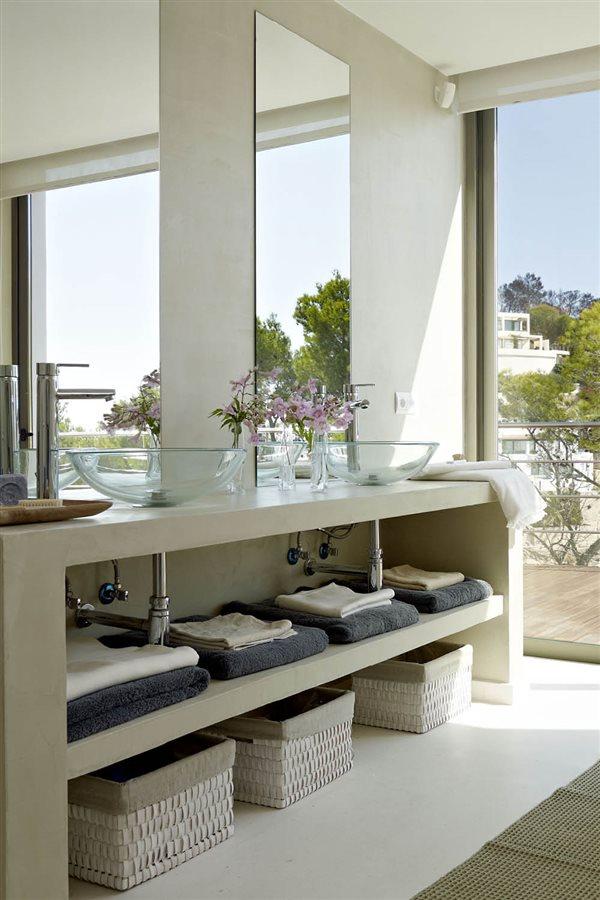 Claves para ordenar el baño y relajarte