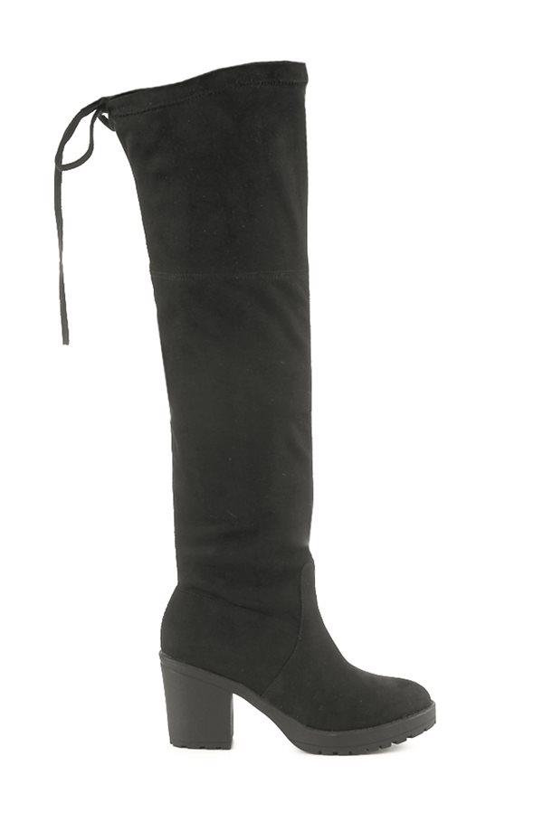 be3a8c9dff97f zapatos baratos otoño invierno 2018 low cost 013. Bota negra XL