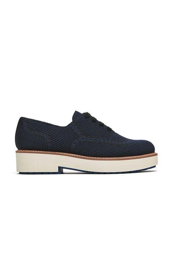 0f521fe89974c zapatos baratos otoño invierno 2018 low cost 019. Zapato masculino azul