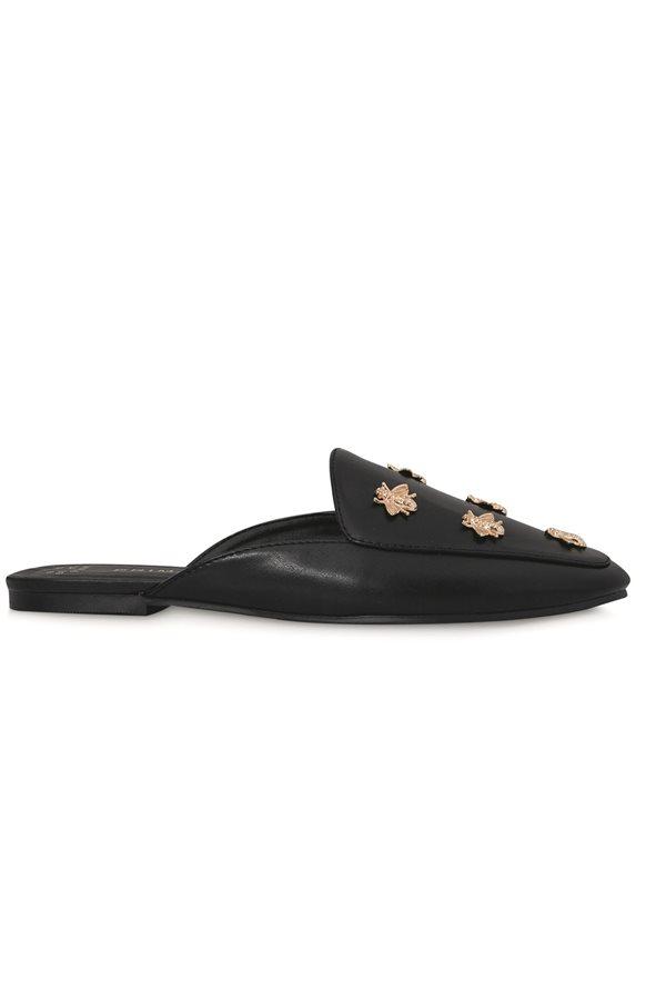 ee3e192573b63 zapatos baratos otoño invierno 2018 low cost 022. Slippers negras