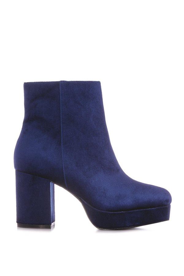 f55bde0949540 zapatos baratos otoño invierno 2018 low cost 08. Botín azul