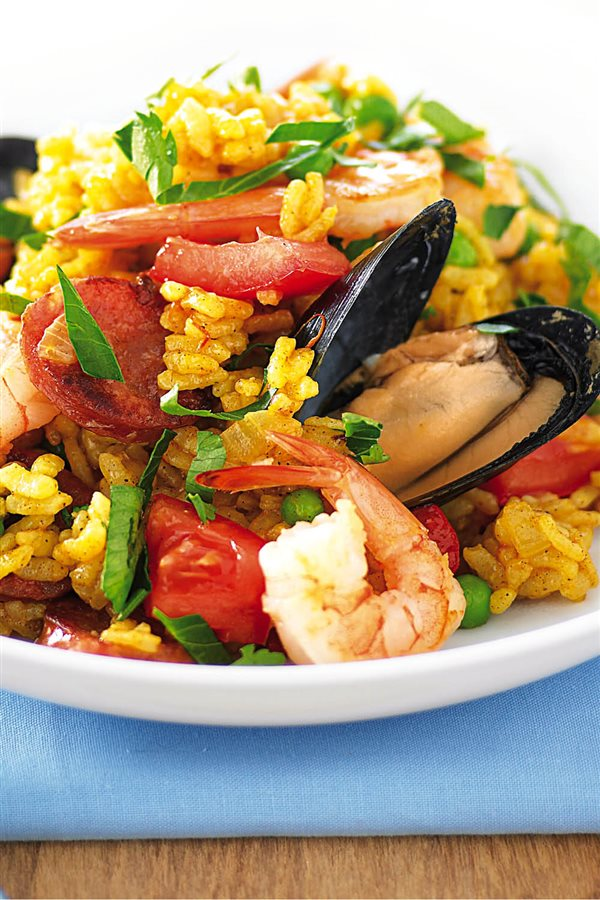 Paella light