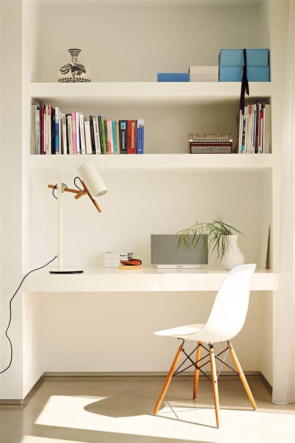 C mo organizar una zona de estudio y mantenerla en orden - Mesas de libro para salon ...