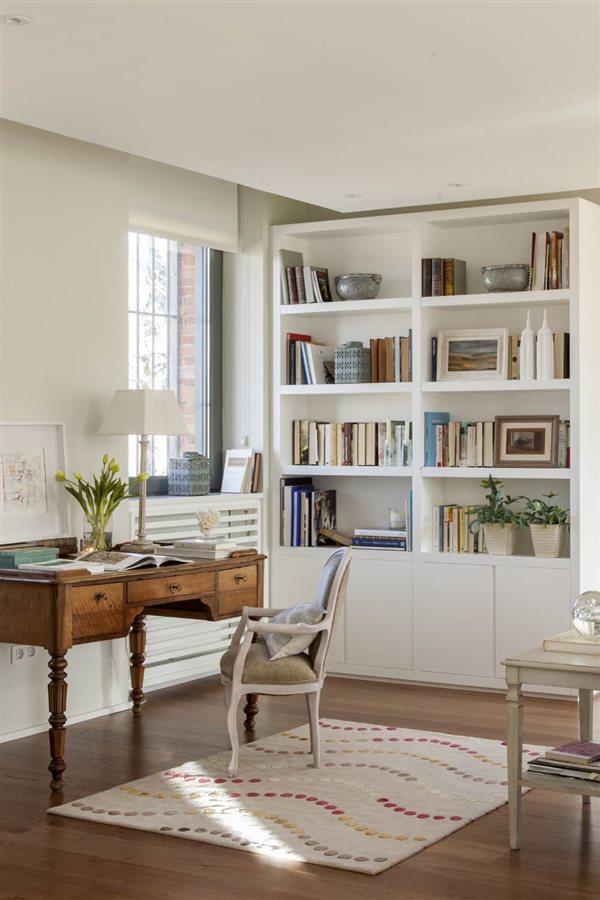 C mo organizar una zona de estudio y mantenerla en orden for Escritorios para salon