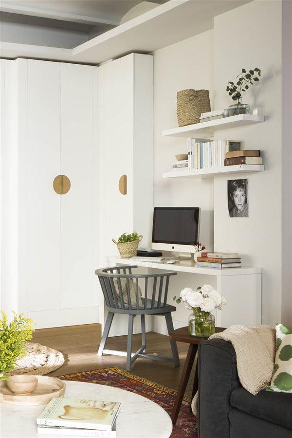 Mesas De Ordenador Para Salon.Como Organizar Una Zona De Estudio Y Mantenerla En Orden
