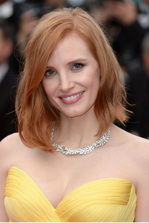Jessica Chastain. Aries 21 marzo - 19 abril