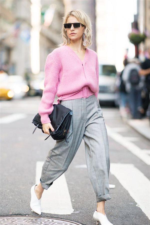Los pantalones que se llevan en otoño: formas y colores