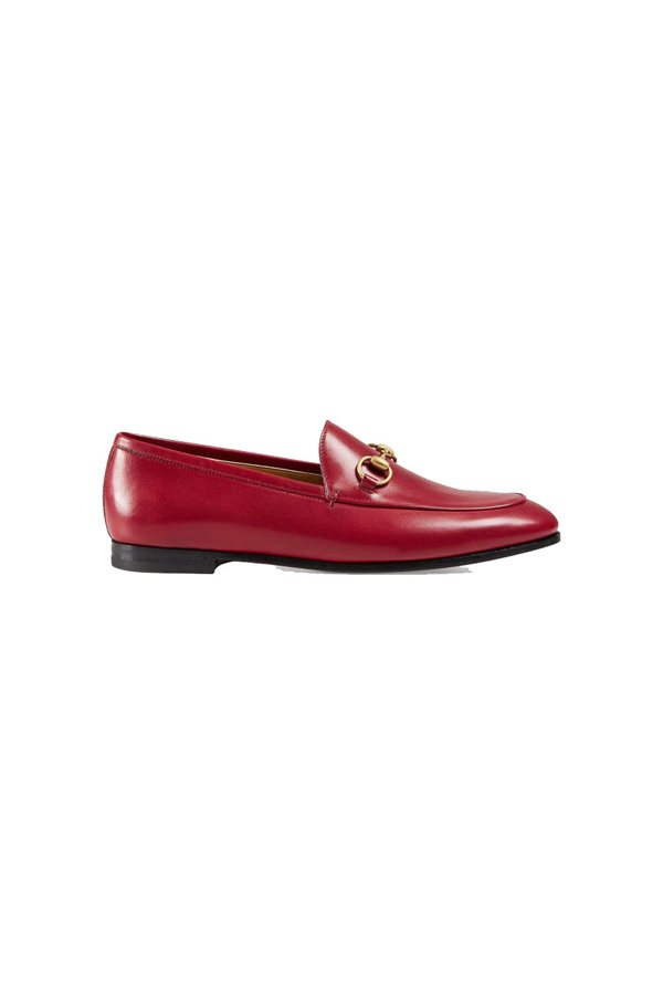 Gucci 595€ . Mocasines rojos