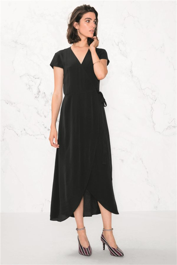b76c905a7 moda mujer vestidos baratos otoño invierno 2018 low cost 023. Vestido  cruzado
