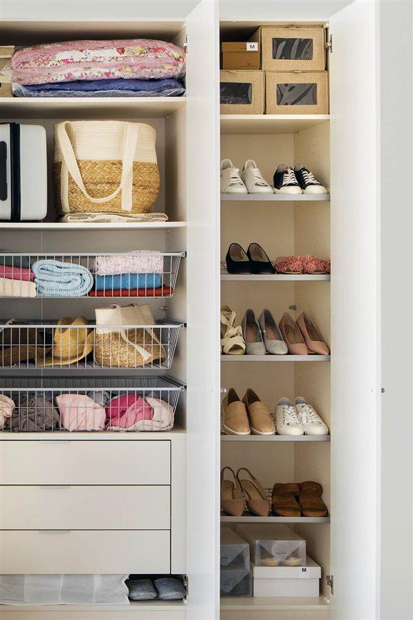 C mo hacer un cambio de armario con xito y sin ning n for Cajas para guardar ropa armario