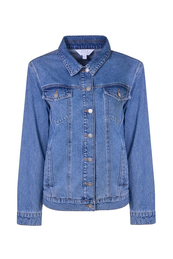 Fondo de armario Miss Selfridge 49€. Denim chic