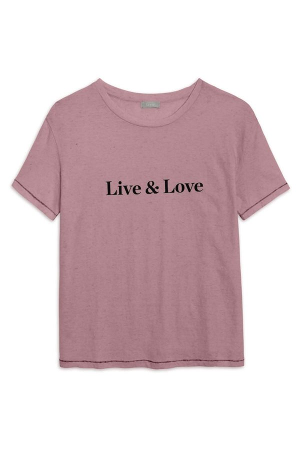 camisetas cancer de mama camiseta rosa. Live & Love