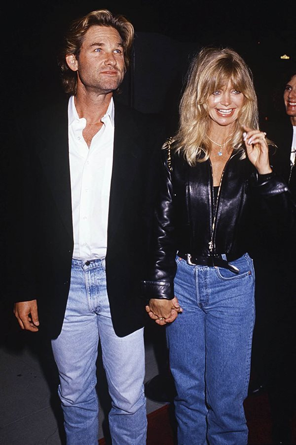 moda amor hace 25 años goldie hawn kurt russell. Goldie Hawn y Kurt Russell
