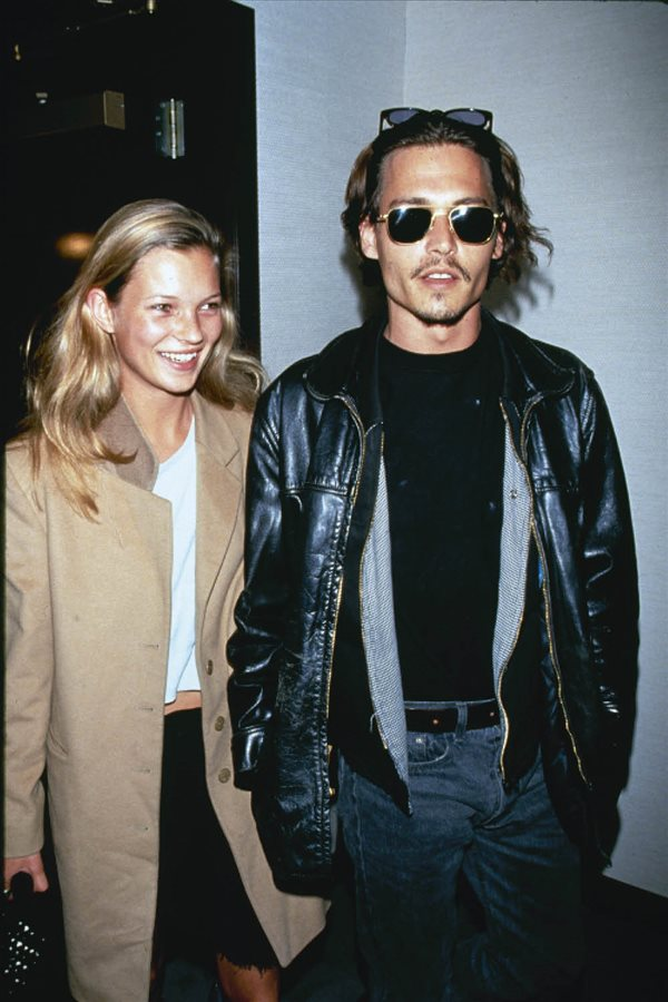 moda amor hace 25 años johnny deep kate moss. Kate Moss y Johnny Depp