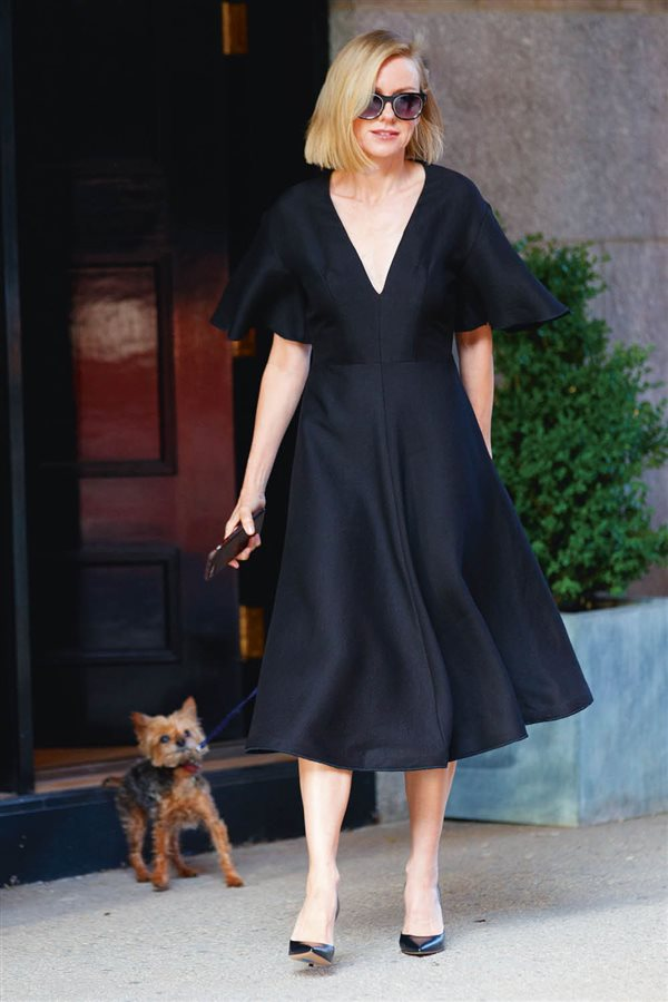Vestido negro fiesta informal