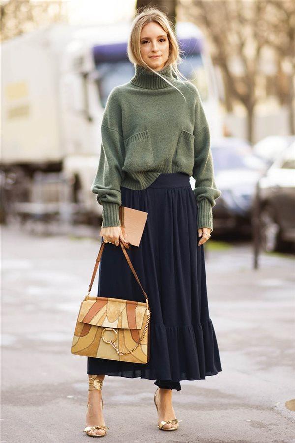 25 faldas low cost para este oto o invierno for Look oficina otono 2017
