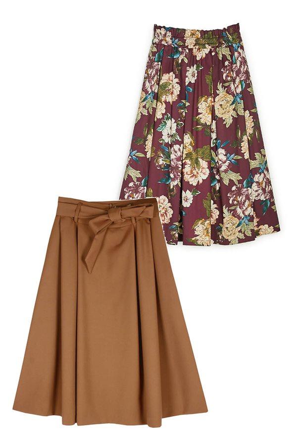 25 faldas low cost para este otoño invierno