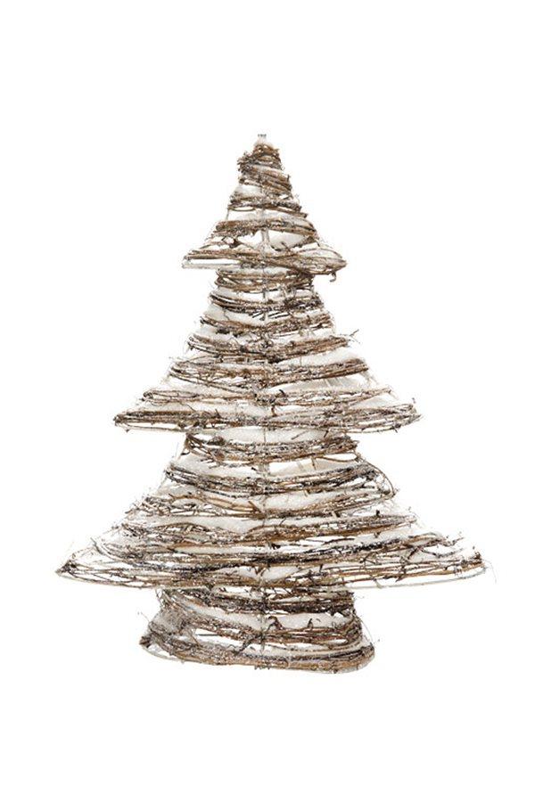 30 ideas de decoraci n navide a que puedes encontrar ya en for Arbol navidad ratan