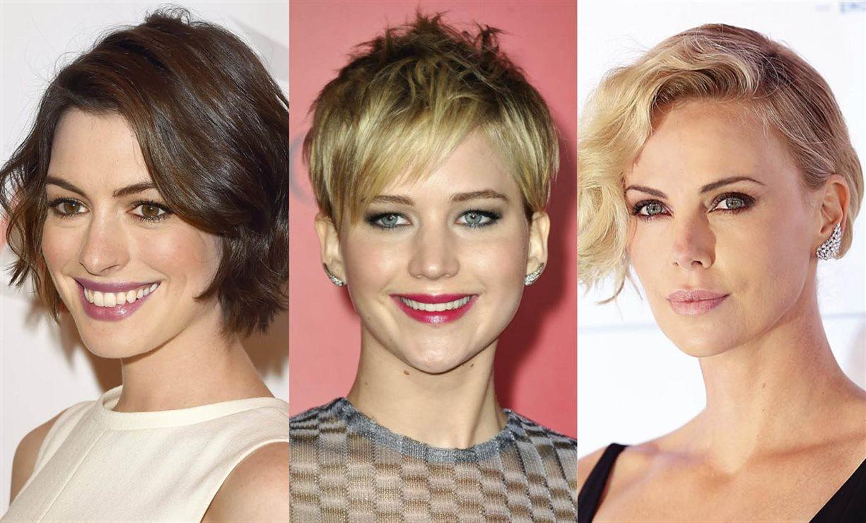 Cortes de pelo corto y peinados de mujer 2018 segn forma cara