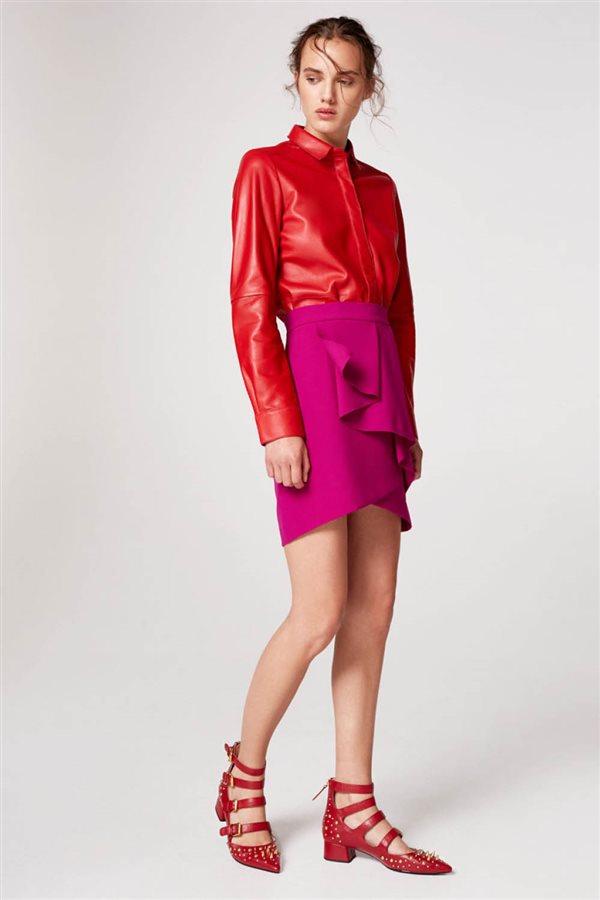 estilo fashion moda ropa mujer falda uterque 69. Cortes arriesgados 060bf02d1af