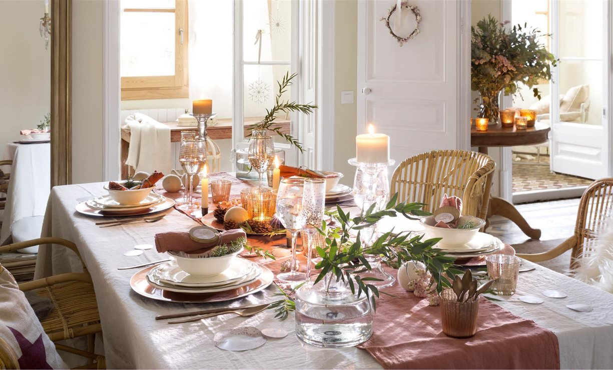 Trucos e ideas para decorar la casa para navidad - Bandejas decoracion salon ...