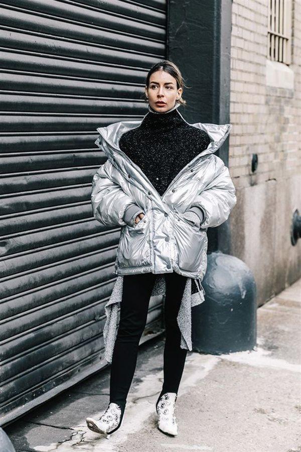 abrigos con color para desatacar en invierno 2017 2018