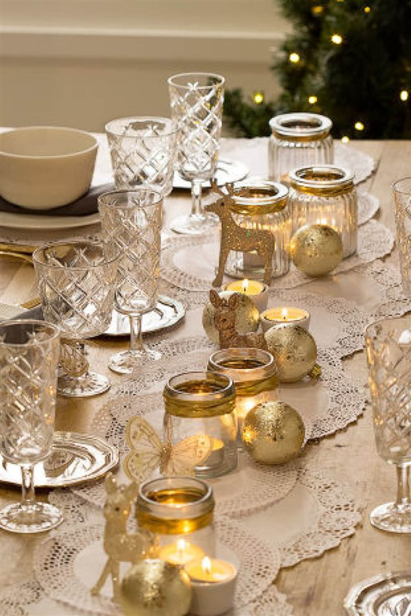 15 mesas de navidad llenas de ideas para que decores t - Mesa de navidad elegante ...