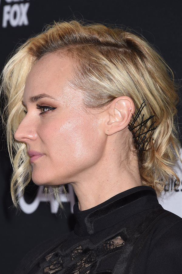 bad day hair diane kruger. Todo a un lado