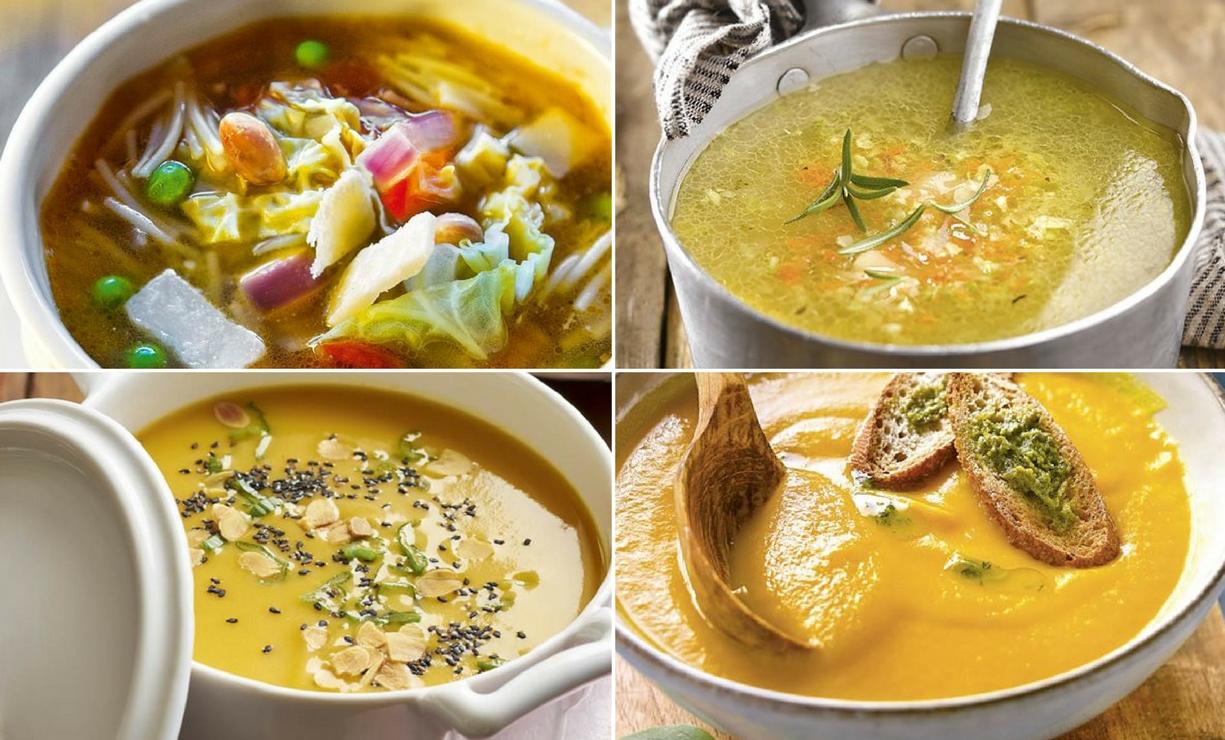10 recetas de sopas y cremas f ciles y s per saludables - Sopa de alcachofas para adelgazar ...