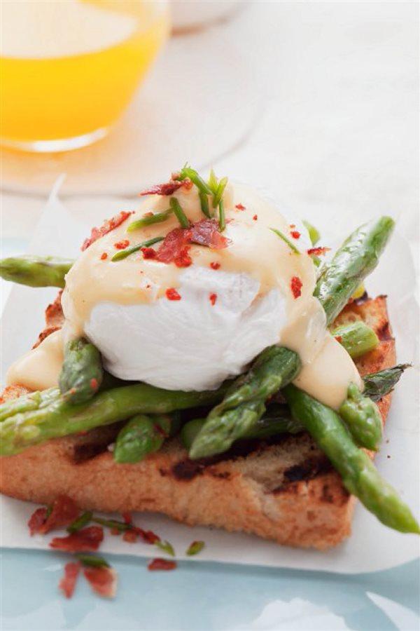 desayunos saludables18. Huevos benedictine
