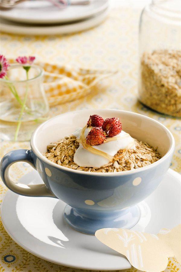 Desayunos saludables 22 ideas sanas f ciles y deliciosas - Desayunos en casa ...