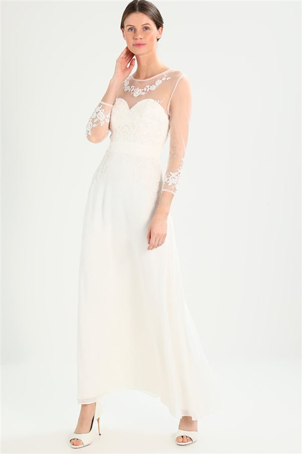 15 vestidos de novia baratos para ir perfecta el día de tu boda