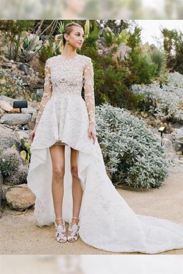 0024f253 Los vestidos de novia más originales de las famosas
